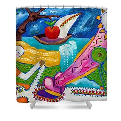 Life After Life Shower Curtain