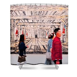 Life - Art Shower Curtain