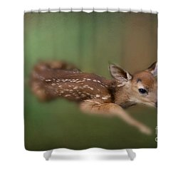 Shower Curtain featuring the photograph Life Begins by Brenda Bostic