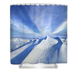 Shower Curtain featuring the photograph Life Below Zero by Phil Koch