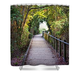 Life Beyond The Path Shower Curtain