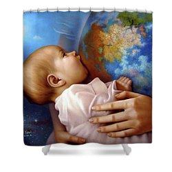 Life, Earth Shower Curtain