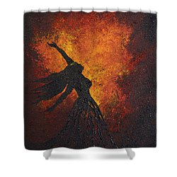Life Force Shower Curtain