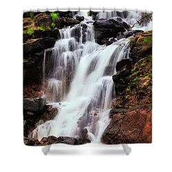 Life From Above Shower Curtain by Rick Furmanek