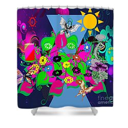 Life Full Of Experiences Shower Curtain