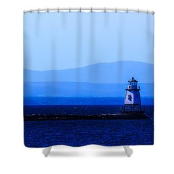 Life Goes On... Shower Curtain