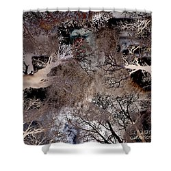 Life In A Bush Of Ghosts Shower Curtain