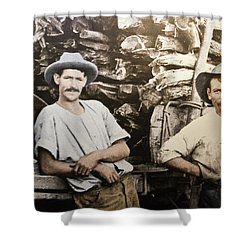 Shower Curtain featuring the photograph Life In Australia 1901 To 1914 by Miroslava Jurcik
