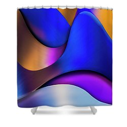 Life In Color Shower Curtain