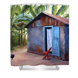 Life In Haiti Shower Curtain
