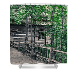 Life In The Ozarks Shower Curtain by Annette Hugen