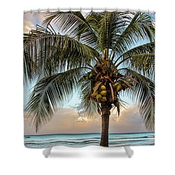 Life Is A Beach Shower Curtain by Marcia Colelli