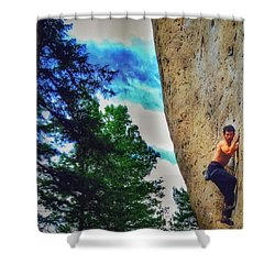 Actually Wow Shower Curtain