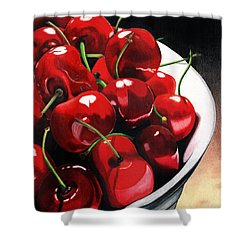 Shower Curtain featuring the painting Life Is.... by Angela Armano
