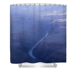 Life Is Mysterious Shower Curtain