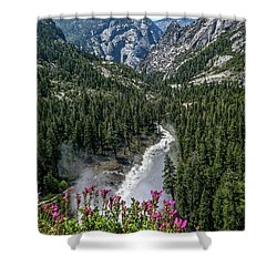 Life Line Of The Valley Shower Curtain