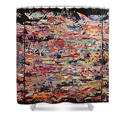 Life, Love And Lullabies Shower Curtain