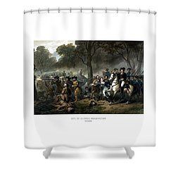 Life Of George Washington - The Soldier Shower Curtain by War Is Hell Store