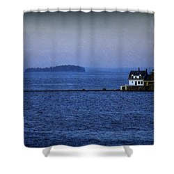 Life Of Solitude Shower Curtain