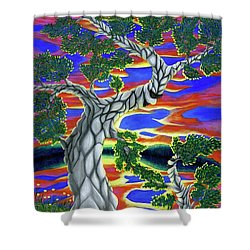 Life Of Trees Shower Curtain