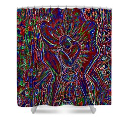 Life Series 3 Shower Curtain