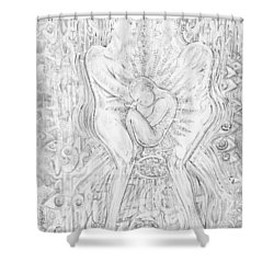 Life Series 5 Shower Curtain