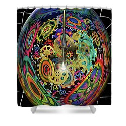 Life / Time Shower Curtain