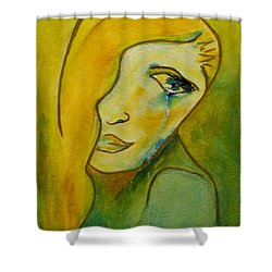 Life Unlived Shower Curtain by Donna Blackhall