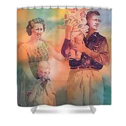 Life Was Good, Circa 1957 Shower Curtain