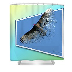 Life's Impermanence  Shower Curtain by Mariarosa Rockefeller