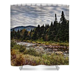 Life's Journey Shower Curtain by Deborah Klubertanz