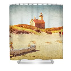Lifes Journey Shower Curtain by Karol Livote