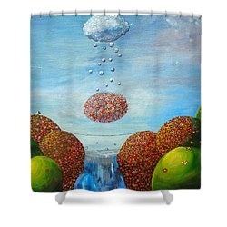 Life's Path Shower Curtain by Mindy Huntress