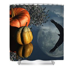 Life's Reflections Shower Curtain by Richard Rizzo