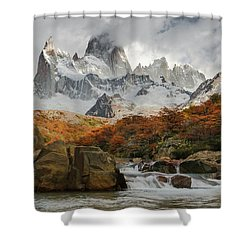Lifespring 3 Shower Curtain