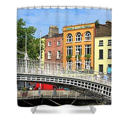 Liffey Bridge Shower Curtain
