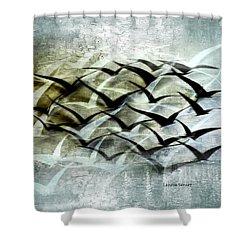Lifted Spirits Shower Curtain