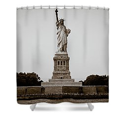 Liftin' Me Higher Shower Curtain by David Sutton