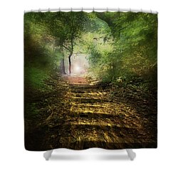 Lightfall Shower Curtain