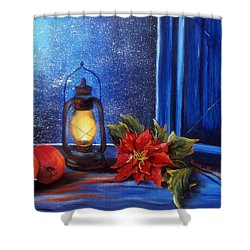 Light 2 Shower Curtain by Vesna Martinjak