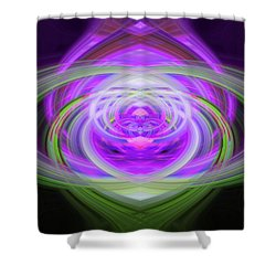 Light Abstract 3 Shower Curtain