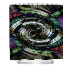Light Abstract 6 Shower Curtain