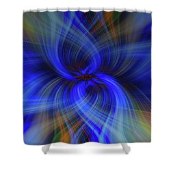Light Abstract 7 Shower Curtain