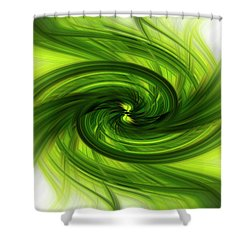 Light Abstract 8 Shower Curtain