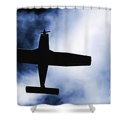 Shower Curtain featuring the photograph Light Aircraft by Craig B