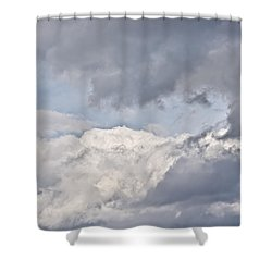 Light And Heavy Shower Curtain
