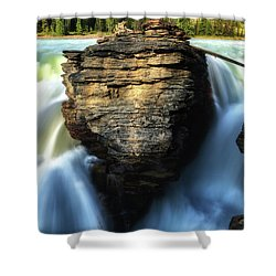 Shower Curtain featuring the photograph Light And Movement by Rick Furmanek