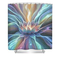 Light Blossom Shower Curtain