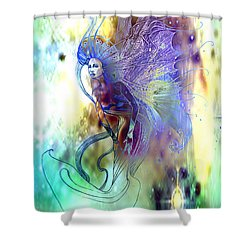 Light Dancer Shower Curtain