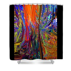 Light Flow 2 Shower Curtain